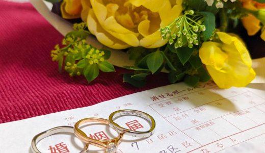 結婚する際にやるべきことチェックリスト。相手の家族へのあいさつ、婚姻届の提出など