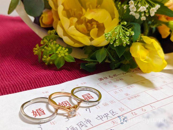 結婚する際にやるべきことチェックリスト