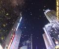 ニューヨーク・タイムズスクエアでの年越しカウントダウンに行ってきたので、写真と動画を貼っていくよ