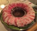 博多炊き肉鍋の「金蔦」おしゃれな店で見る肉のカルデラに驚愕。六本木にもあるよ!