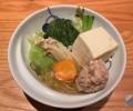 焼鳥屋が始めた水炊き専門店「橙(だいだい)」鶏の旨味出まくりのスープが最高!特につくねが気に入った